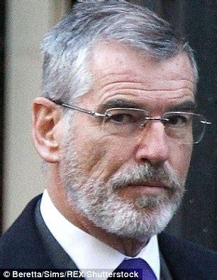 black actor with white beard pierce brosnan looks uncannily like sinn fein president