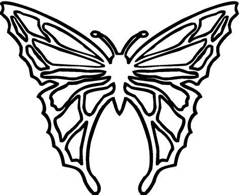 coloring pages of butterfly wings butterfly wings outline clipart best