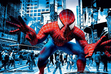 edge theme wallpaper spider man edge of time in your face wallpaper