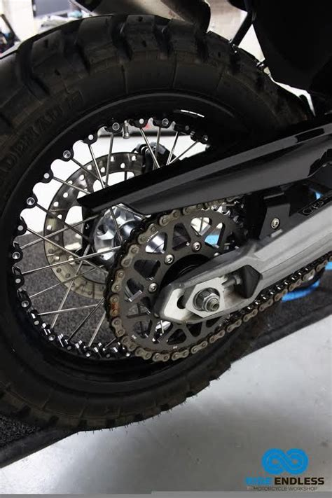 cadena moto f800gs personalizaci 243 n de la moto bmw f 800 gs triple black rally