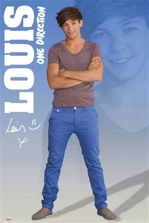louis tomlinson poster one direction poster set of 5 shadows 24x36 lot 1d niall