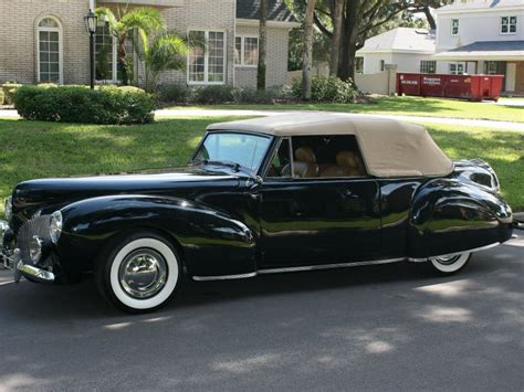 1940 lincoln continental 1940 lincoln continental convertible for sale