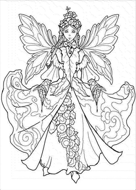 warrior fairy coloring pages for adults coloring pages
