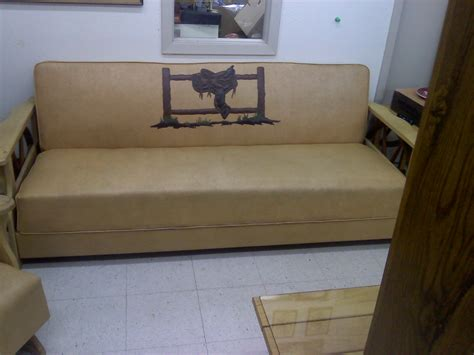 couch fencing giddy up living room kitschy kitschy coo