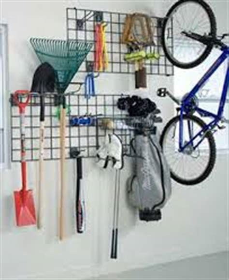 Garage Wall Organizer Grid System by Schulte Wall Grid 2 X 4 The Garage Project