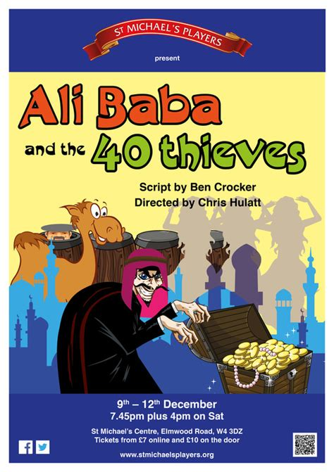 the spiritual meaning of ali baba and the 40 thieves and ali baba and the 40 thieves st michael s players chiswick