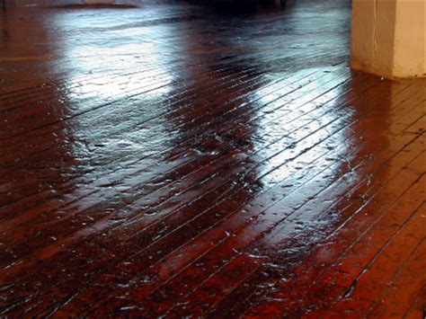 Removing Scratches and Dents from Hardwood Floors