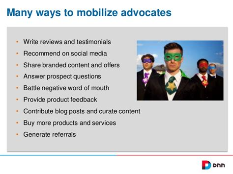 18 Best 007 Brand Advocates - how to make brand advocacy really work for your company