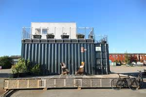 Plans For Small Homes container village by cph containers