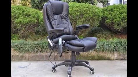 heated desk chair cover massage chair office chairs with massage and heat teraphy