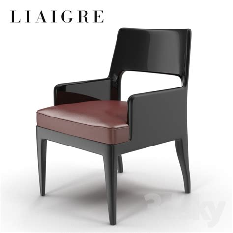 christian liaigre armchair 3d models chair christian liaigre musc arm shair