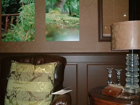 Brown Wainscoting by Raised Panel Wainscot Gallery I Elite Trimworks