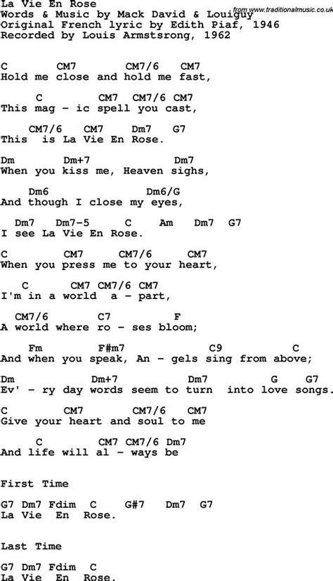 white inn lyrics song lyrics with guitar chords for la vie en louis