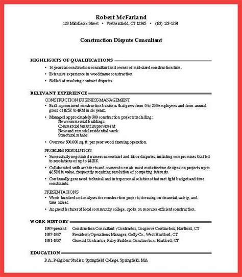 Winning Resume Template by Winning Resumes Sles Memo Exle