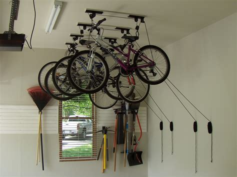 Garage Ceiling Bike Rack by Bike Racks For Garage Storage Myideasbedroom