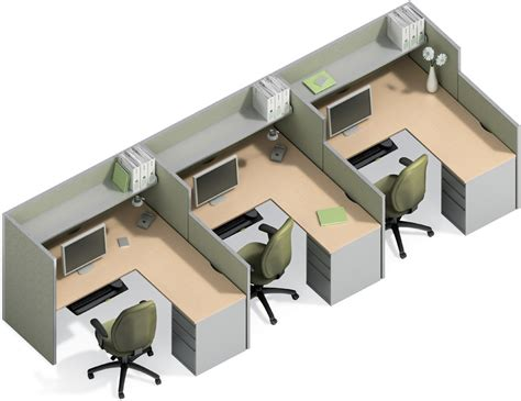 Office Furniture Cubicle Desk 5x5 Cubicle Workstation