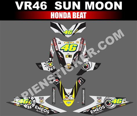 Sticker Striping Motor Stiker Honda Vario Fi 217 Biru Spec A striping motor beat sun moon vr46 apien sticker