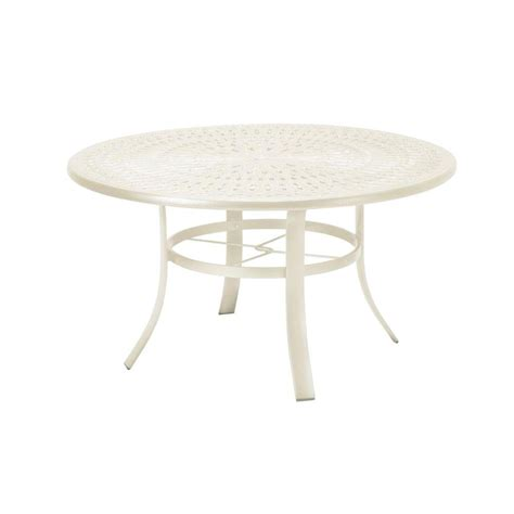 Mesh Patio Table Hton Bay Mix And Match 42 In Mesh Outdoor Patio Dining Table Fts60704 The Home Depot