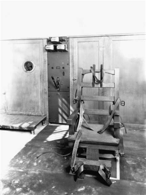 florida memory electric chair at the raiford prison