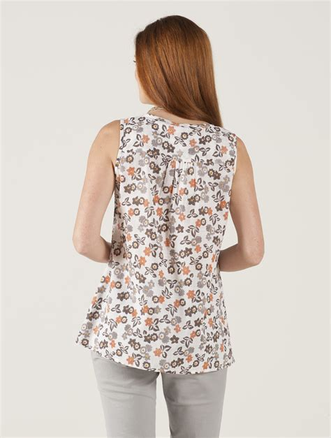 Collar Bow Sleeveless Top Whiteblue 13649 images of cotton blouse best fashion trends and models