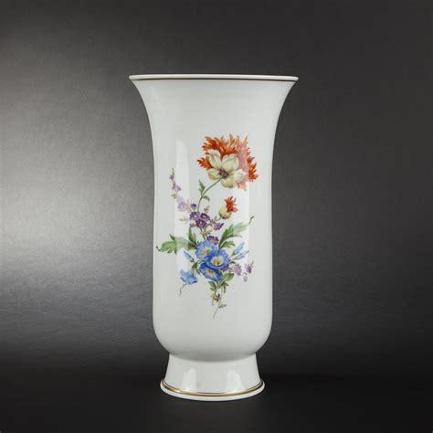 Large Porcelain Vase by Large Meissen Porcelain Vase Expertissim