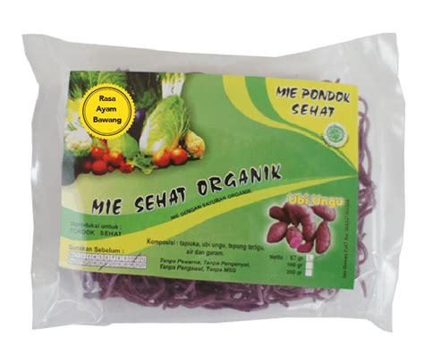 Jual Mie Lemonilo jual pondok sehat mie instan ubi ungu ayam bawang organik