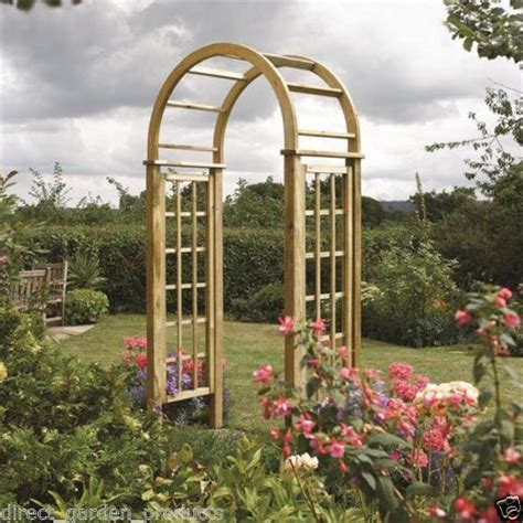 Garden Arch With Gate Uk Garden Arch Gate Ebay