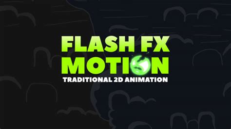 flash fx motion traditional 2d animated elements