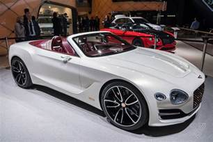 Future Luxury Electric Cars Bentley Challenges Tesla S Idea Of Electric Luxury With A