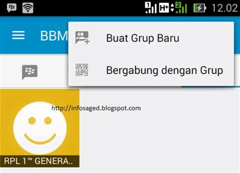 membuat virus bbm android cara mudah membuat group bbm lewat android infosaget com