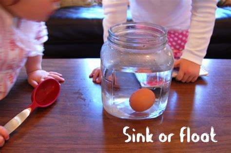 Do Eggs Float Or Sink by Preschool Science Experiments Inspiration Laboratories