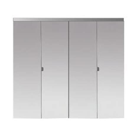 mirror closet doors home depot impact plus 54 in x 96 in polished edge mirror solid