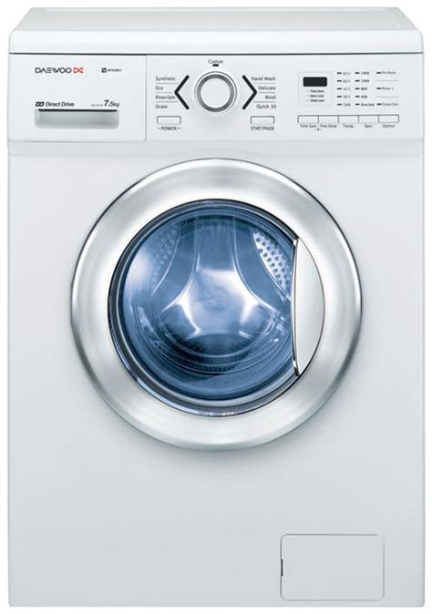 daewoo 7 5kg front load washer dwd fd1452 home concept