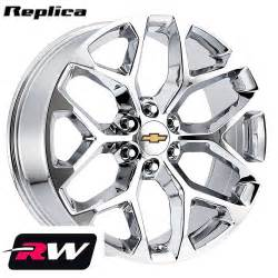 20 Wheels For Chevy Truck 2015 2016 2017 Gmc Wheels Rims Chrome 20 Quot Replica