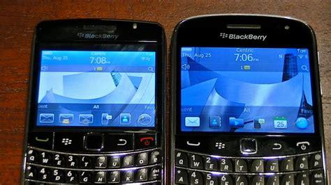 themes bb os 5 blackberry 9700 vs 9900 part 1 of 2 youtube