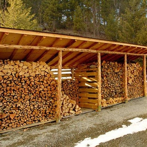 designs  build  wood shed  store firewood