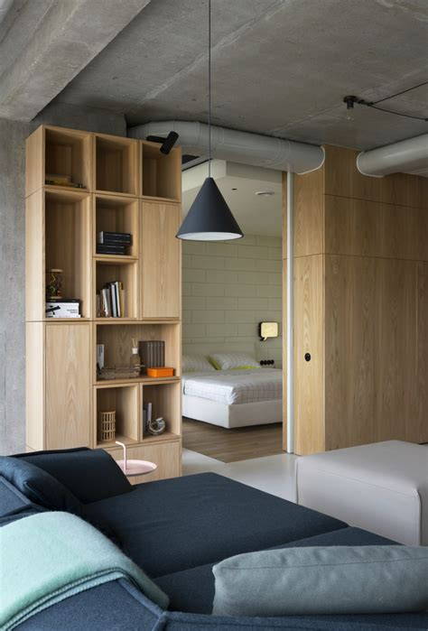 interesting contemporary penthouse  unique design