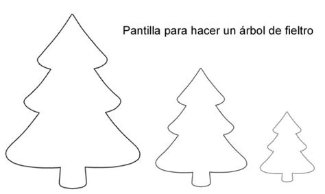 Moldes De Adornos Fieltro Para Arbol | arbol de navidad en fieltro moldes imagui
