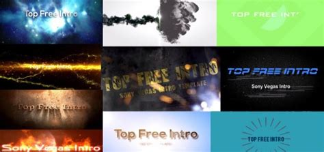 best sony vegas intro templates 3d logo rotation free intro template ae topfreeintro