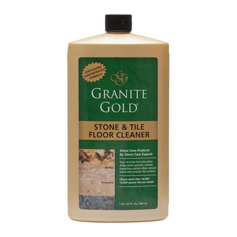 Marble Floor Cleaner by Granite Gold 32 Oz And Tile Floor Concentrate
