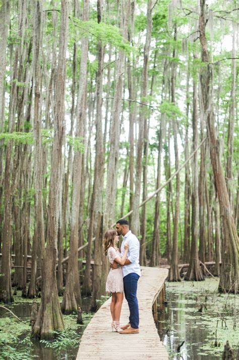chelsea jameill caddo lake engagement session