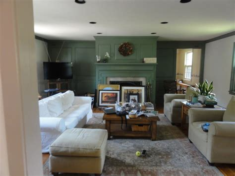 Sage Green Dining Room by Before After Farmhouse Fixer Upper 2016 Lehman Lane