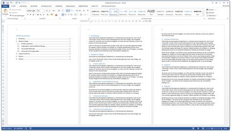 Vorlage Inhaltsverzeichnis Word Word Inhaltsverzeichnis Automatisch Erstellen Kurzanleitung