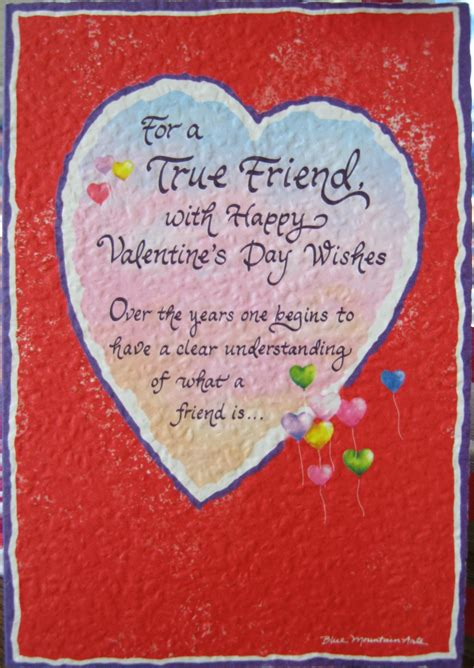 valentines card messages for friends quotes for friends quotesgram
