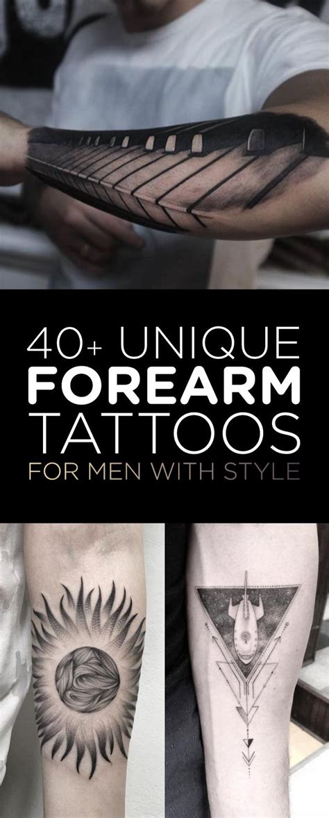 cool tattoos for mens forearms 40 unique forearm tattoos for with style forearm