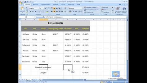 youtube tutorial for excel excel gyorstalpal 243 tutorial youtube