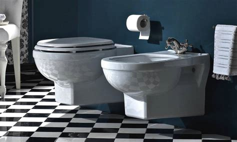 wand wc bidet traditionellle toiletten bidets wand wc