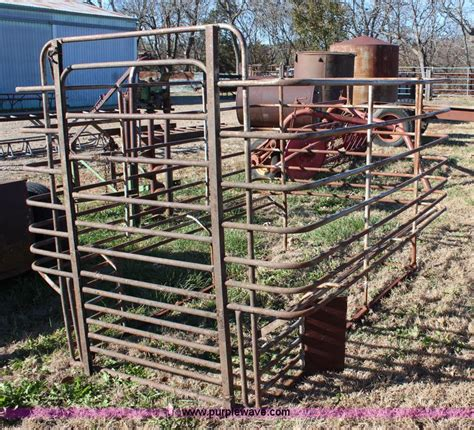 Livestock Rack For by 8 L Stock Rack No Reserve Auction On Wednesday