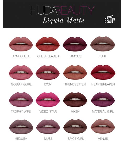 Huda Liquid Matte huda liquid matte lipstick kaufen deutschland