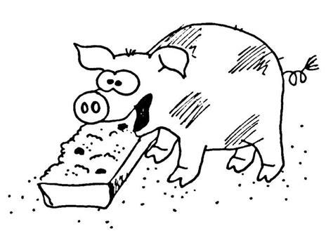 fressendes schwein wuschels malvorlagen